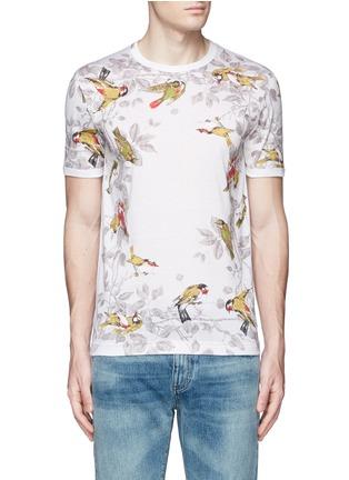 Main View - Click To Enlarge - Dolce & Gabbana - Bird print T-shirt