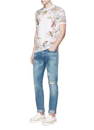 Figure View - Click To Enlarge - Dolce & Gabbana - Bird print T-shirt
