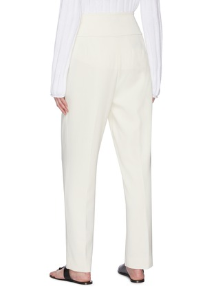 Back View - Click To Enlarge - THEORY - Carrot' Front Pleat Suiting Pants