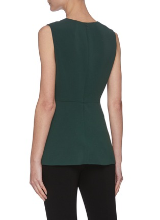 Back View - Click To Enlarge - THEORY - V-neck Sleeveless Blouse