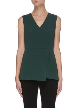 Main View - Click To Enlarge - THEORY - V-neck Sleeveless Blouse