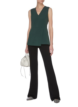 Figure View - Click To Enlarge - THEORY - V-neck Sleeveless Blouse