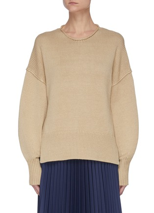 Main View - Click To Enlarge - THEORY - 'Mercer' chunky knit pullover