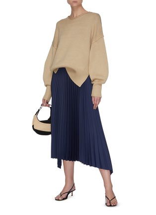 Figure View - Click To Enlarge - THEORY - 'Mercer' chunky knit pullover
