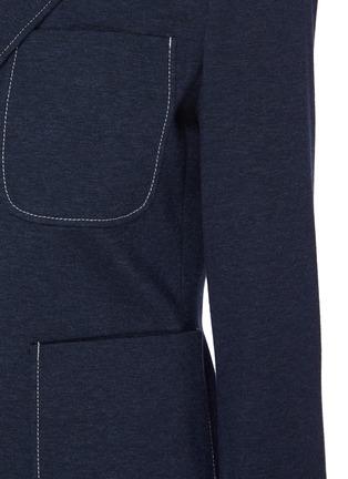 - THEORY - Contrast Seam Patch Pocket Single-breast Blazer