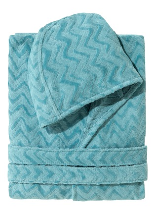 Main View - Click To Enlarge - MISSONI HOME - Rex hooded large bathrobe