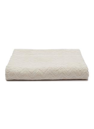 Main View - Click To Enlarge - MISSONI HOME - Rex Cotton Bath Sheet – Natural White