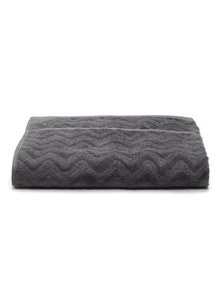 Main View - Click To Enlarge - MISSONI HOME - Rex Cotton Bath Towel – Charcoal
