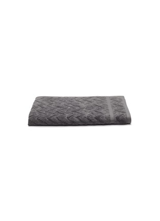 Main View - Click To Enlarge - MISSONI HOME - Rex Cotton Hand Towel – Charcoal