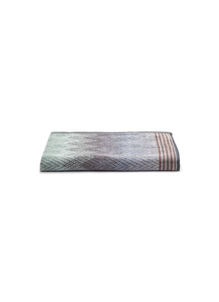 Main View - Click To Enlarge - MISSONI HOME - Yaco Cotton Hand Towel – Green/Multi-colour