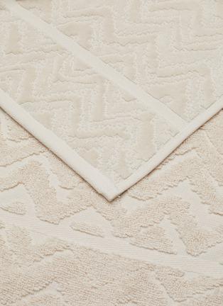 Detail View - Click To Enlarge - MISSONI HOME - Rex Cotton Bath Towel – Natural White