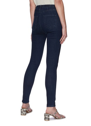 Back View - Click To Enlarge - J BRAND - High Rise Skinny Jeans