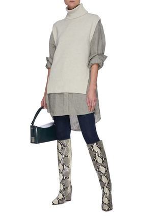 Figure View - Click To Enlarge - J BRAND - High Rise Skinny Jeans