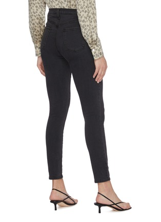 Back View - Click To Enlarge - J BRAND - Lillie' high rise crop skinny jeans
