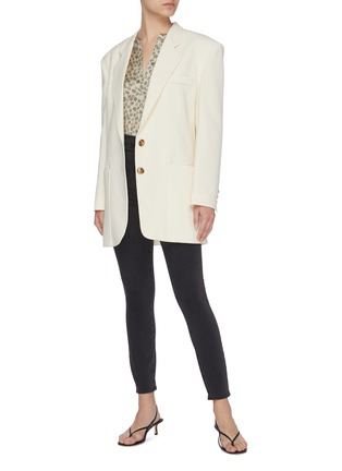Figure View - Click To Enlarge - J BRAND - Lillie' high rise crop skinny jeans
