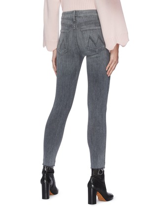 Back View - Click To Enlarge - MOTHER - 'The Looker' Crop Skinny Jeans