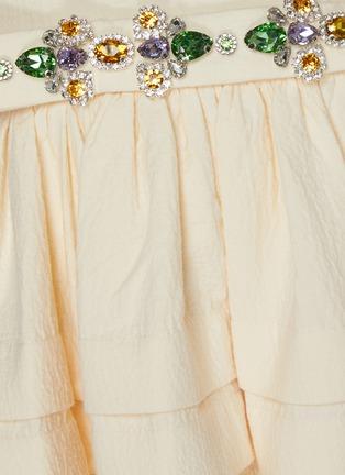 - SHUSHU/TONG - Stone embellished voluminous top