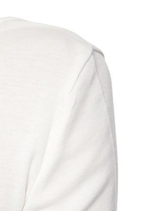 - VINCE - Square Neck Pima Cotton Modal Blend T-shirt
