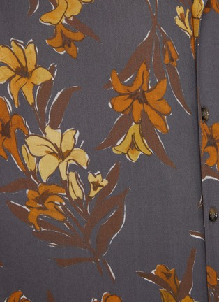 - NANUSHKA - Floral print bowling shirt