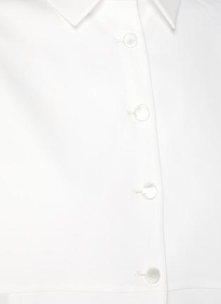 - SANS TITRE - Bat Sleeve Open Hem Shirt