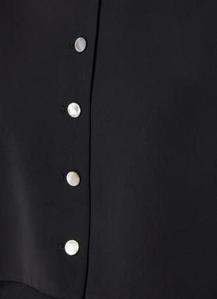 - SANS TITRE - Bat Sleeve Crop Shirt