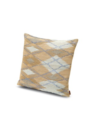 Main View - Click To Enlarge - MISSONI HOME - Yasuj diamond motif jacquard cushion
