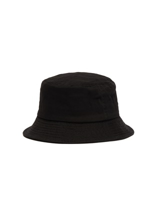 Figure View - Click To Enlarge - KANGOL - Logo Embroidered Kids and Toddler Cotton Bucket Hat