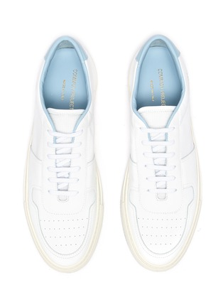 Detail View - Click To Enlarge - COMMON PROJECTS - 'Bball '90' Leather Sneakers