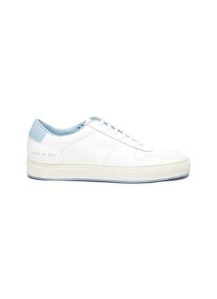 Main View - Click To Enlarge - COMMON PROJECTS - 'Bball '90' Leather Sneakers