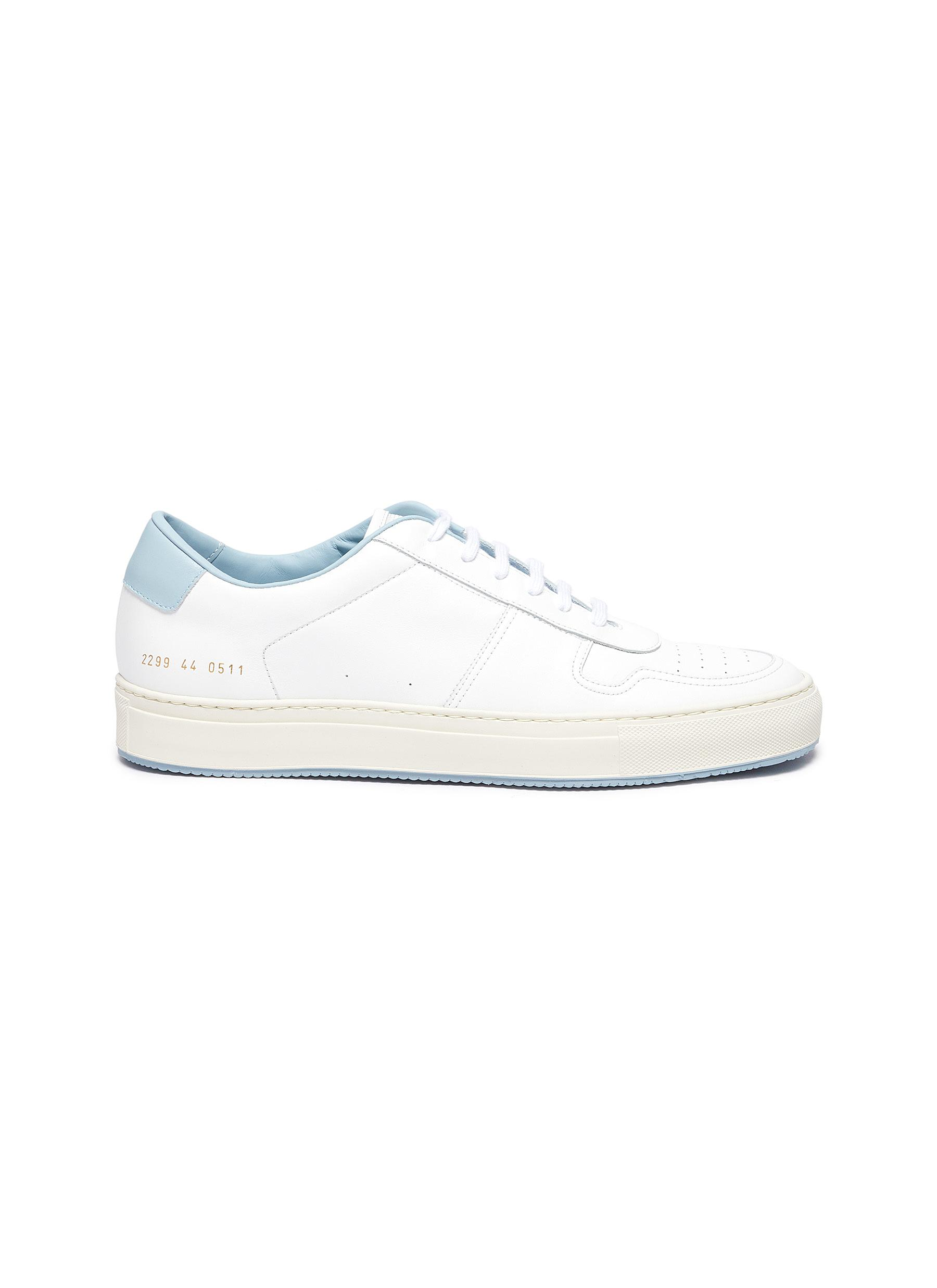 Common Projects 'BBALL '90' LEATHER SNEAKERS