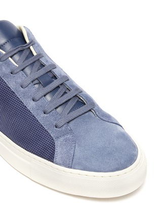 Detail View - Click To Enlarge - COMMON PROJECTS - 'Retro Summer Edition' Low Top Sneakers