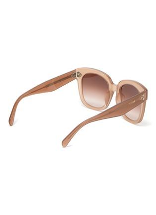 Figure View - Click To Enlarge - CELINE - Oversized acetate wayfarer frame sunglasses