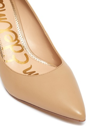 Detail View - Click To Enlarge - SAM EDELMAN - 'Jordyn' leather pumps