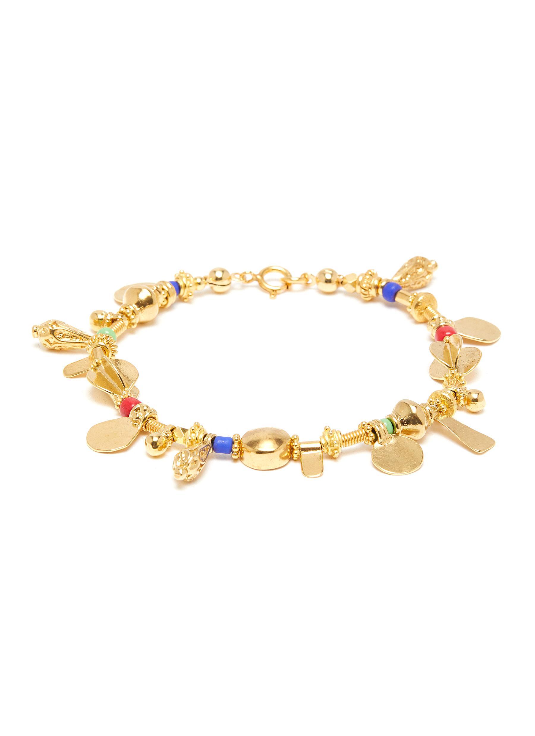 'Fairy's tail' 24k gold plated silver bronze vermeil bracelet
