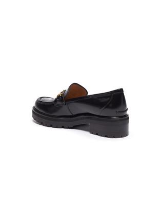 - SAM EDELMAN - 'Tully' horsebit leather platform loafers