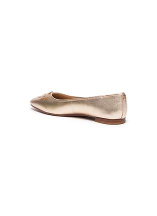 - SAM EDELMAN - 'Jillie' metallic leather flats