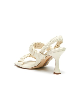 - SAM EDELMAN - 'Marlena' ruch strap heel sandals