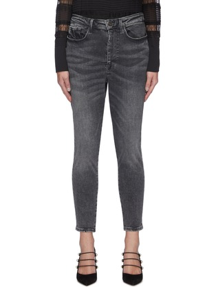 Main View - Click To Enlarge - FRAME DENIM - Le One' Crop Skinny Jeans