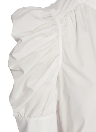 - FRAME DENIM - 'Gillian' puff sleeve poplin top
