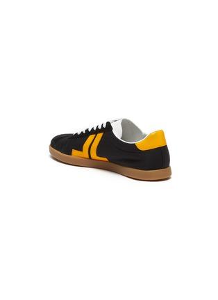- LANVIN - 'Glen' Leather Overlay Nylon Low-top Sneakers
