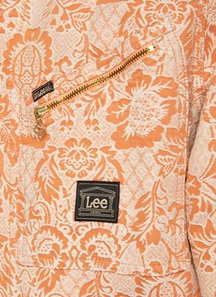 - ARIES - x Lee '191' Zip Front Paisley Print Denim Jacket