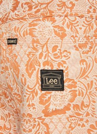 - ARIES - x Lee Jeans denim floral carpenter pants