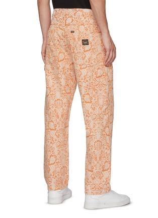 Back View - Click To Enlarge - ARIES - x Lee Jeans denim floral carpenter pants