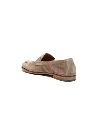 - DOUCAL'S - 'Derek Washed' leather penny loafers