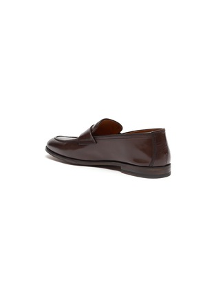 - DOUCAL'S - 'Derek Polo' leather penny loafers