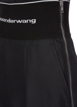 - ALEXANDERWANG - Logo elastic waistband suiting pants