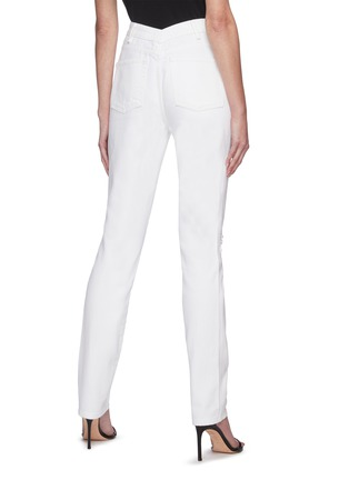 Back View - Click To Enlarge - ALEXANDERWANG - Dipped back high waist jeans