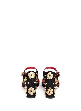 Back View - Click To Enlarge - Dolce & Gabbana - Brass charm appliqué pumps