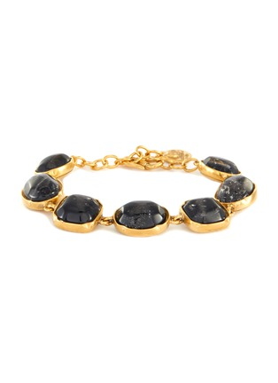 Main View - Click To Enlarge - GOOSSENS - Cabochon bead bracelet