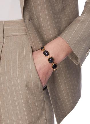 Figure View - Click To Enlarge - GOOSSENS - Cabochon bead bracelet